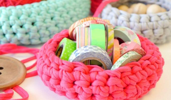 Handmade Crochet Bowl Pattern
