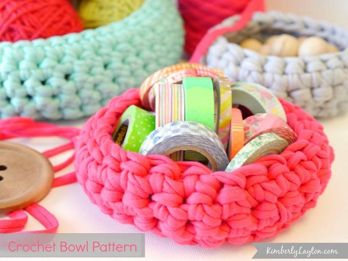 Crochet Bowl Pattern by Kimberly Layton