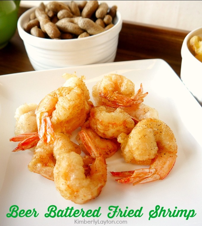 Fried Shrimp Recipe {Beer Battered} by Kimberly Layton
