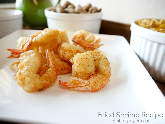 Fried Shrimp Recipe by Kimberly Layton