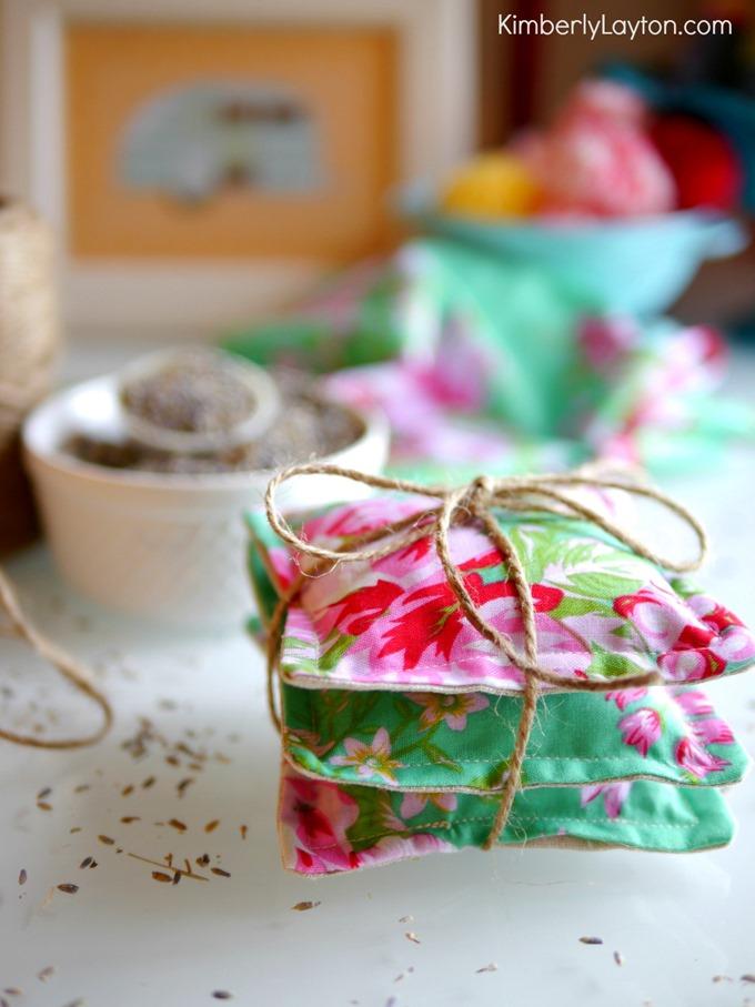Handmade Lavender Sachets by Kimberly Layton