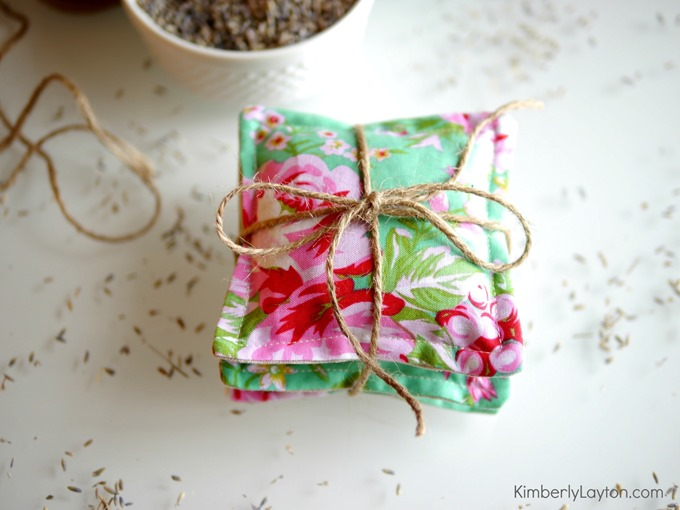 How to make lavender sachets by Kimberly Layton