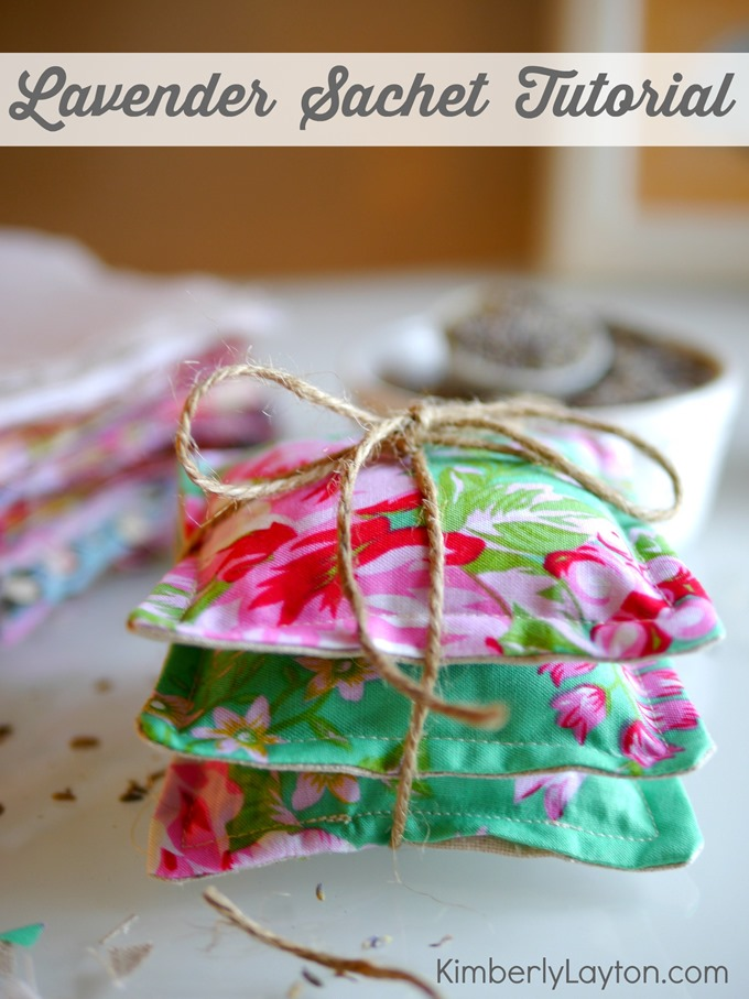 Lavender Sachet Tutorial by Kimberly Layton