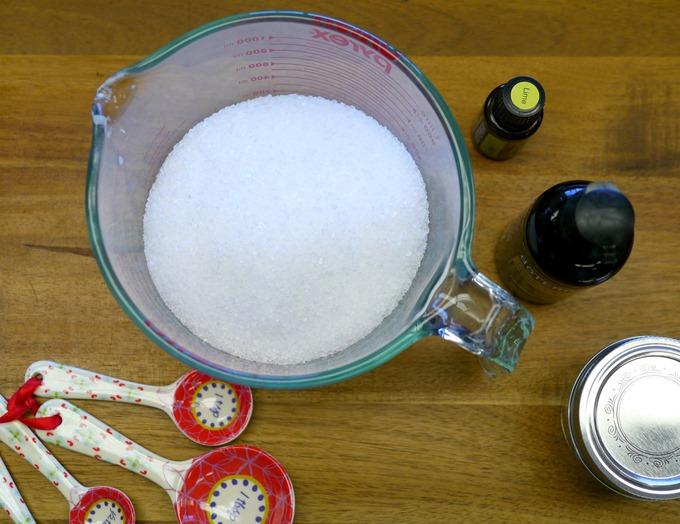 Making Body Scrub on KimberlyLayton.com