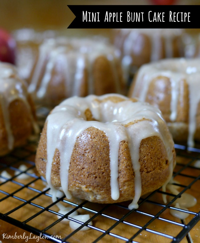 Apple Bundt Cake Recipe on KimberlyLayton.com