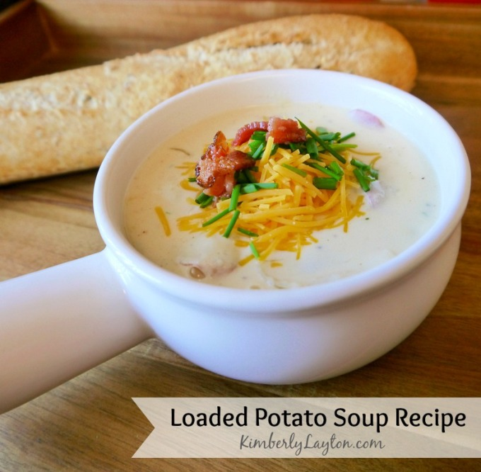 Loaded Potato Soup Recipe by Kimberly Layton