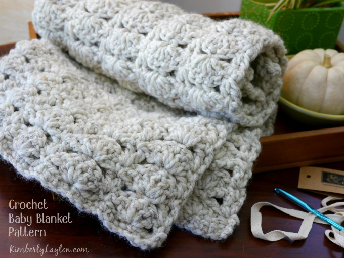 Crocheting Baby Blanket : made this cozy crochet baby blanket for a baby gift, but I wish I ...