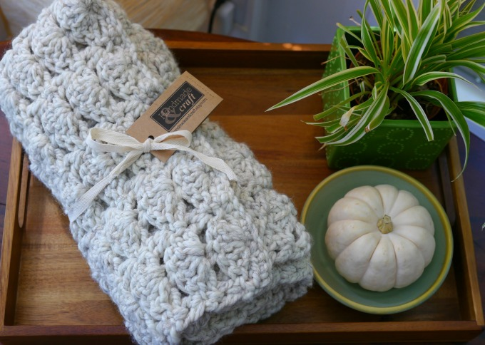Handmade Baby Crochet Blanket by KimberlyLayton.com