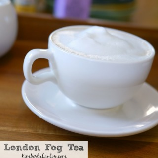 London Fog Tea Recipe on KimberlyLayton.com