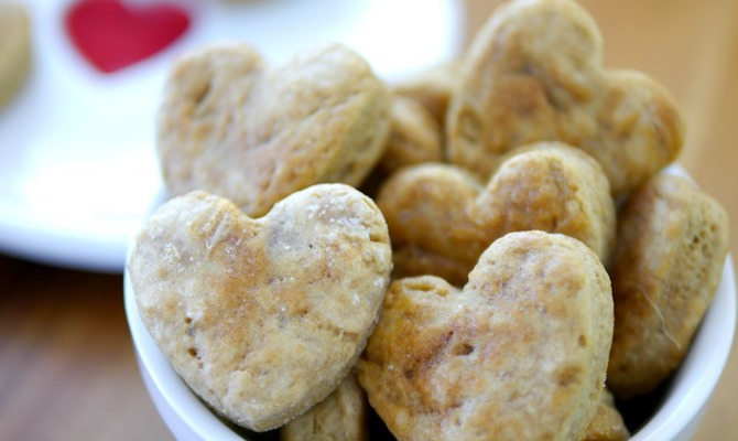 Homemade Heart Dog Treat Recipe