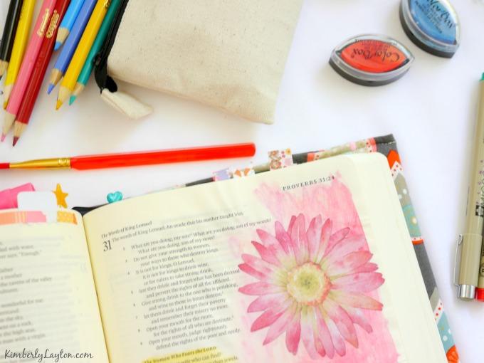 Journaling Bible Examples on KimberlyLayton.com