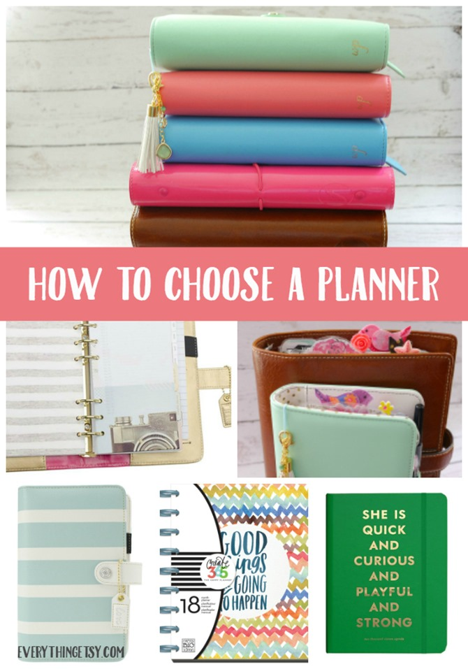 How to Choose a Planner on EverythingEtsy.com